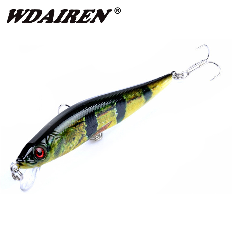1Pcs 10cm 10g Minnow Crank wobblers Fishing Lure Artificial Laser Hard Fishing Bait hooks pesca Swim Crankbait Fishing tackle 1pcs 20cm 45g fishing lure large minnow lure artificial 3d eyes hard minnow baits with hooks fishing tackle senuelos de pesca