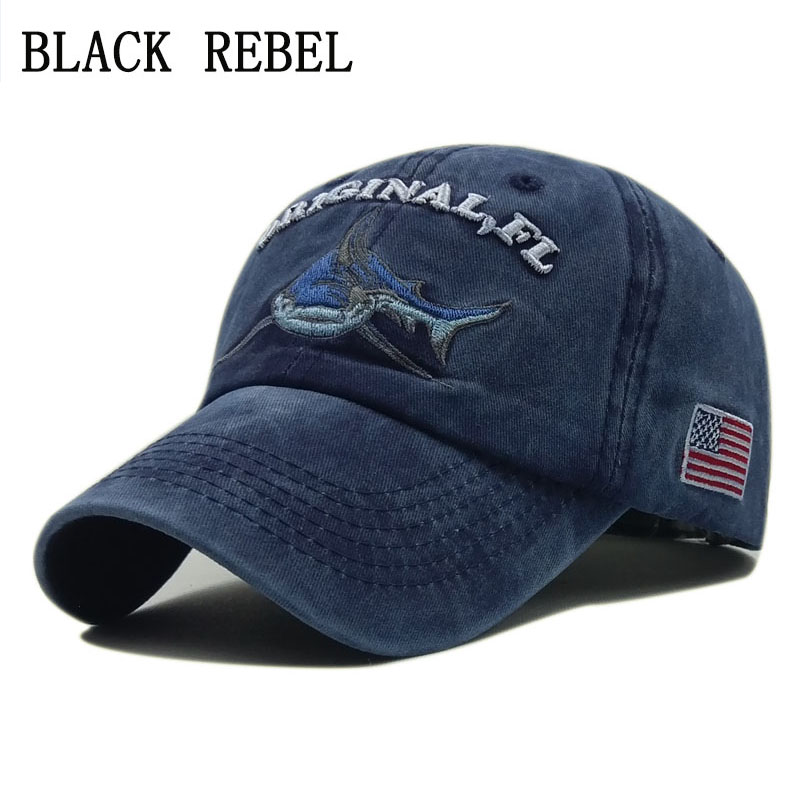 Black Rebel Men's Baseball Cap Women Snapback Hats For Men Bone Casquette Hip hop Brand dad hat Gorras Cotton Shark Hat Caps satellite 1985 cap 6 panel dad hat youth baseball caps for men women snapback hats