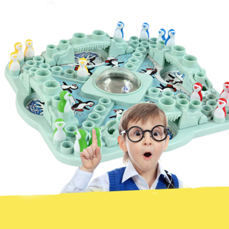 New Penguin Trap Ice Breaker Game Save Penguin On Block Family Funny Game penguin ice breaking save the penguin great family toys gifts desktop game fun game who make the penguin fall off lose this game