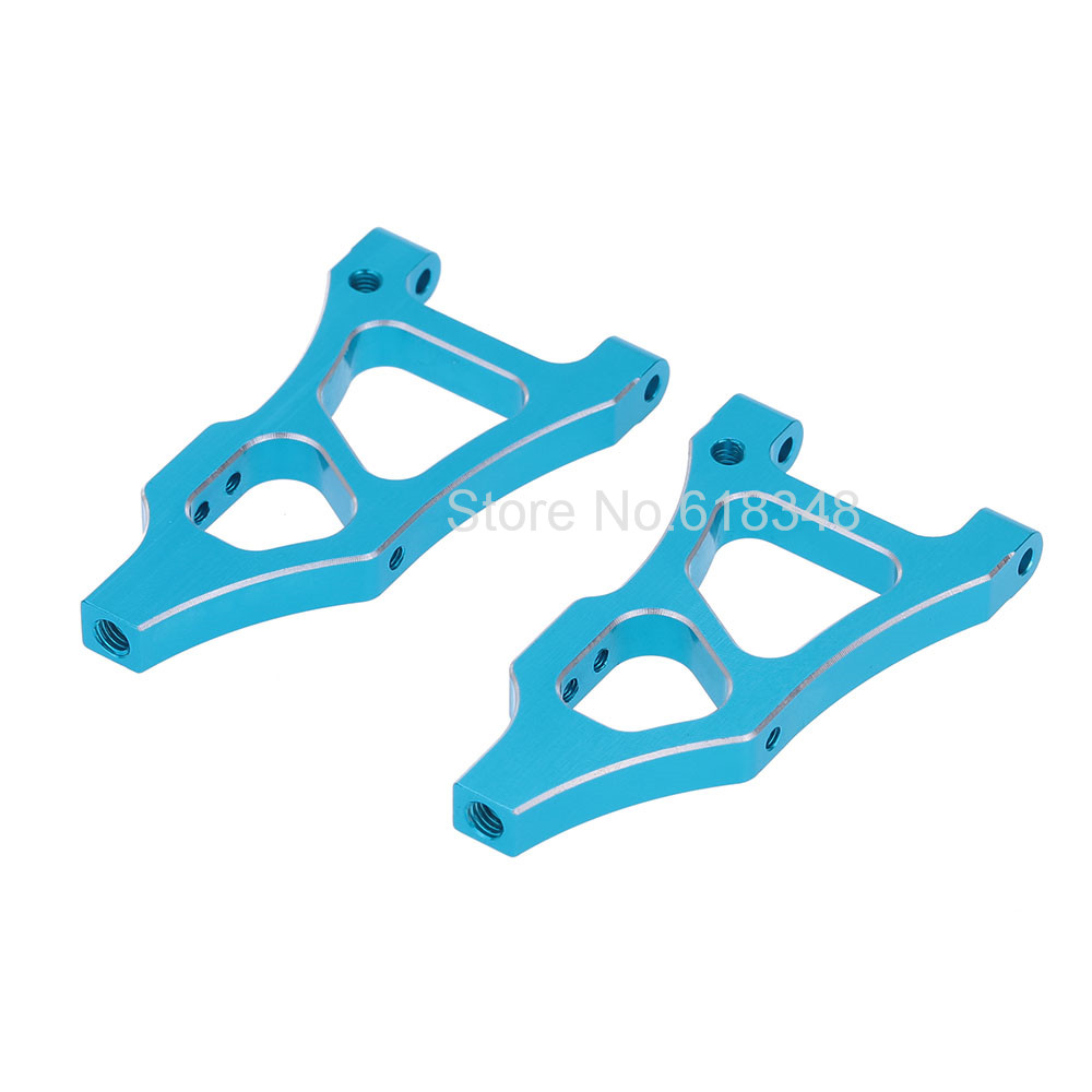 HSP Backwash Aluminum Parts 166019 Alloy Front Lower Arm AL 06052 For 1/10 RC Buggy Model Car 94166 hsp rc car parts 054015 alloy front upper top plate al 1 5 scale rc buggy truck
