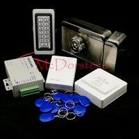 Brand New In Stock Full Waterproof Metal RFID Card Code Keypad Door Access Control Kit Electric