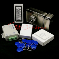 Brand New In Stock Full Waterproof Metal RFID Card Code Keypad Door Access Control Kit Electric
