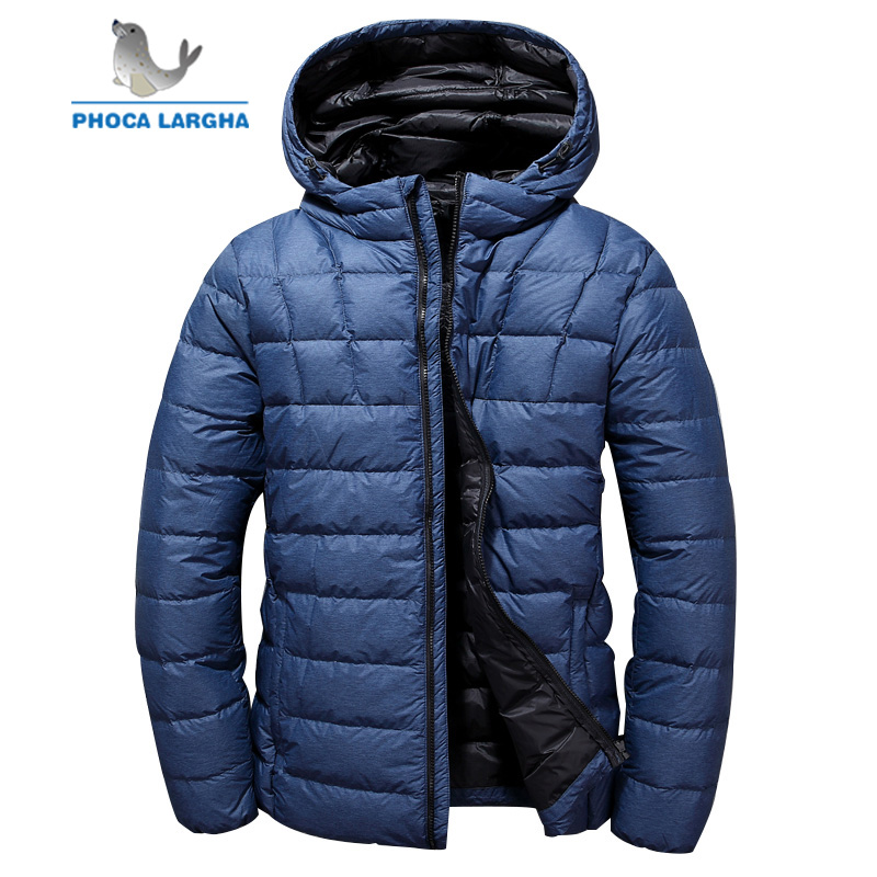 2018 New Winter Hooded Duck   Down   Jackets Men Warm High Quality   Down     Coats   Male Casual Fashion Outerwer   Down   Parkas Mens