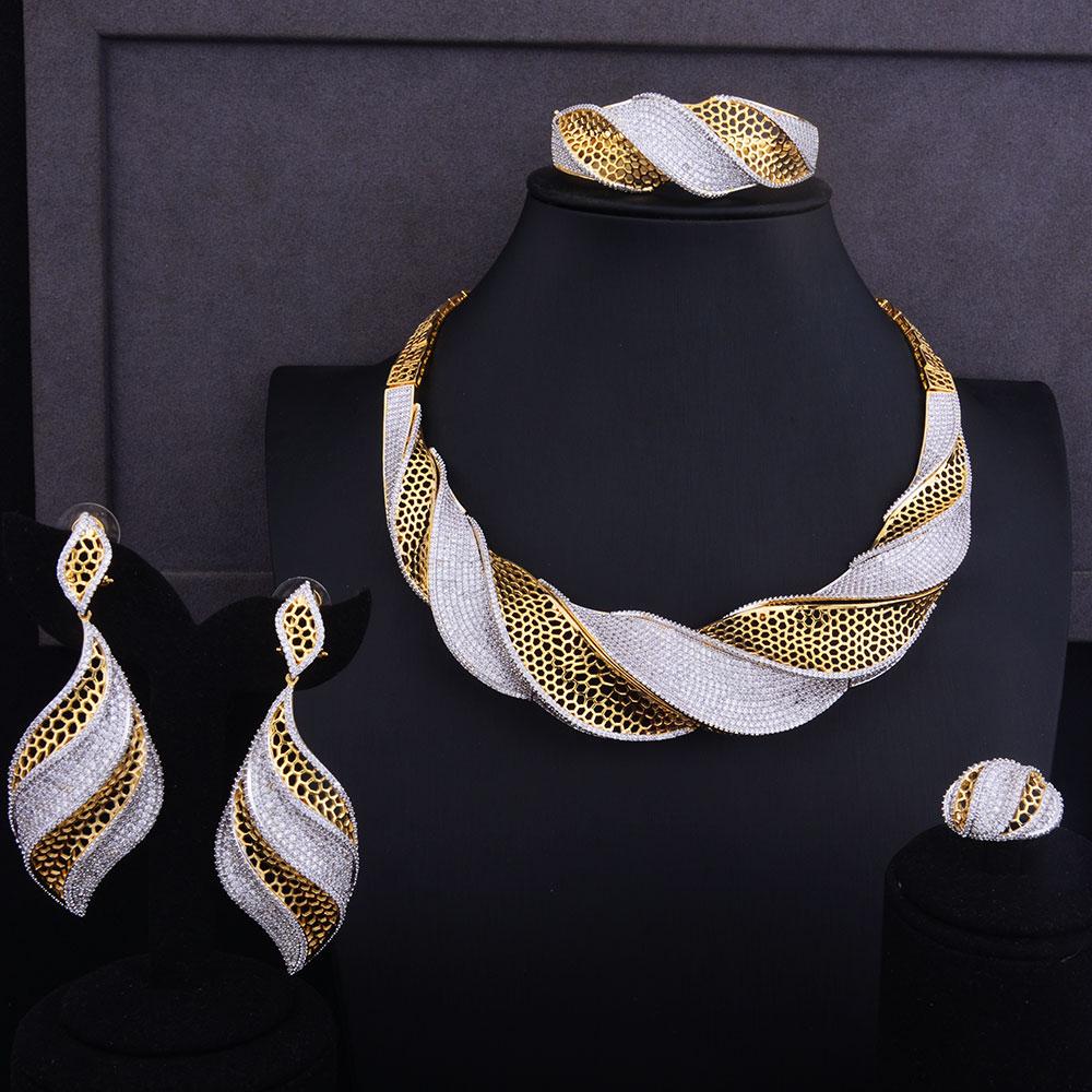 Luxury Twist Necklace Set