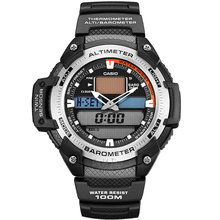 Casio watch Outdoor mountain climbing multi-functional sports male watch SGW-400H-1B SGW-400H-1B2 SGW-400HD-1B