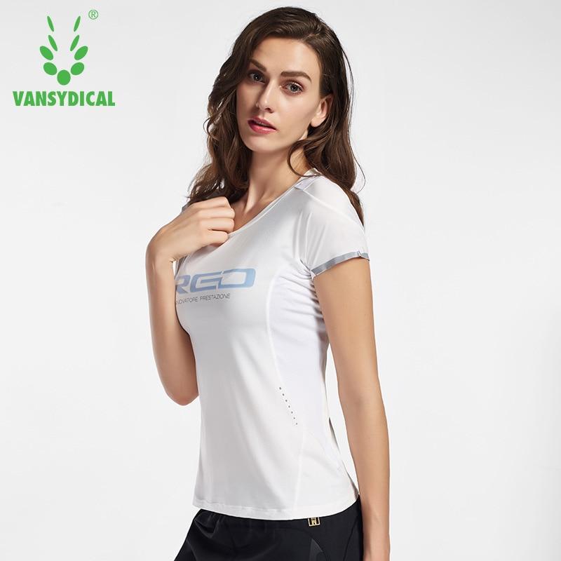 Aliexpress.com : Buy Vansydical Womens Yoga Tops Sports