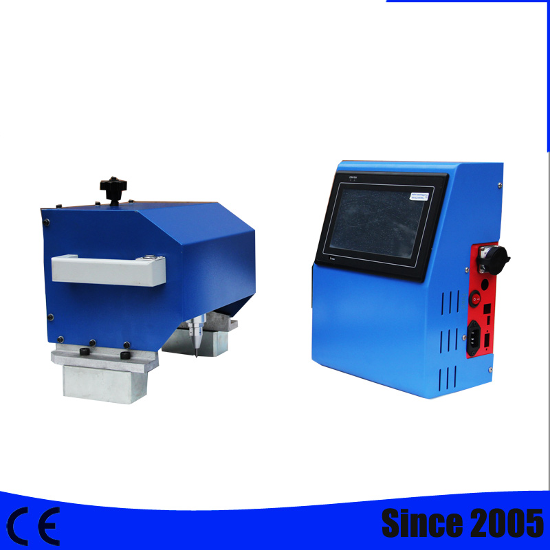 Industrial CNC Pneumática Dot Peen Máquina de Marcação de Peças; Dot Peen/Gravura Pin Needle & frete grátis