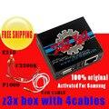 Z3x box activado para samsung y pro con 4 cable c3300k/p1000/usb/e210 para nueva actualización s6 s5 nota4 envío gratis