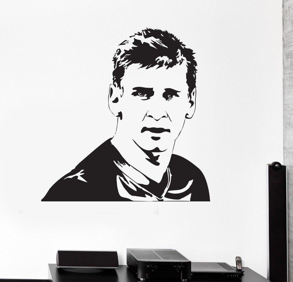 Achetez en gros messi sticker en ligne des grossistes - Stencil barcelona ...