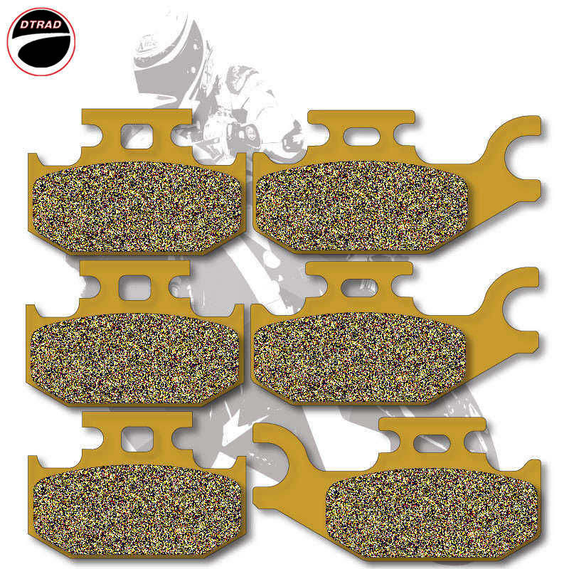 Moto Brake Pads F+R For CAN AM ATV Outlander 400 07-11 500 07-11 Renegade 500 08-11 800 07-11 650 07-11 DS 650 2007