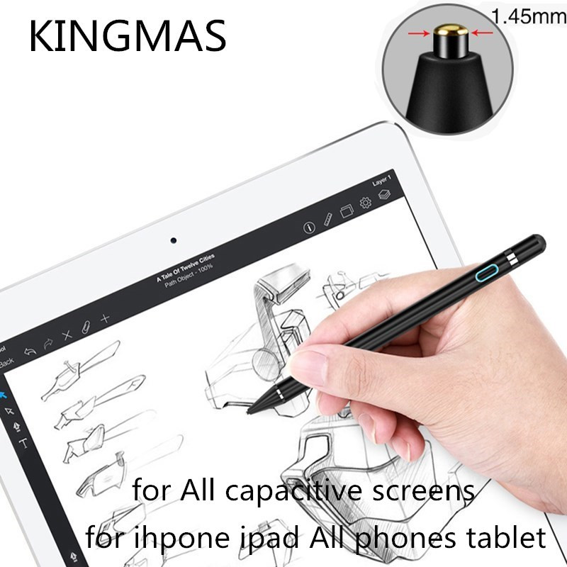 Tablet Pen for apple pencil new stylus capacitance touch Pencil For Apple iPad Pro for iPad 9.7 2017(2018) for iPad 1 2 3 4 mini apple mk0c2zm a pencil для ipad pro white