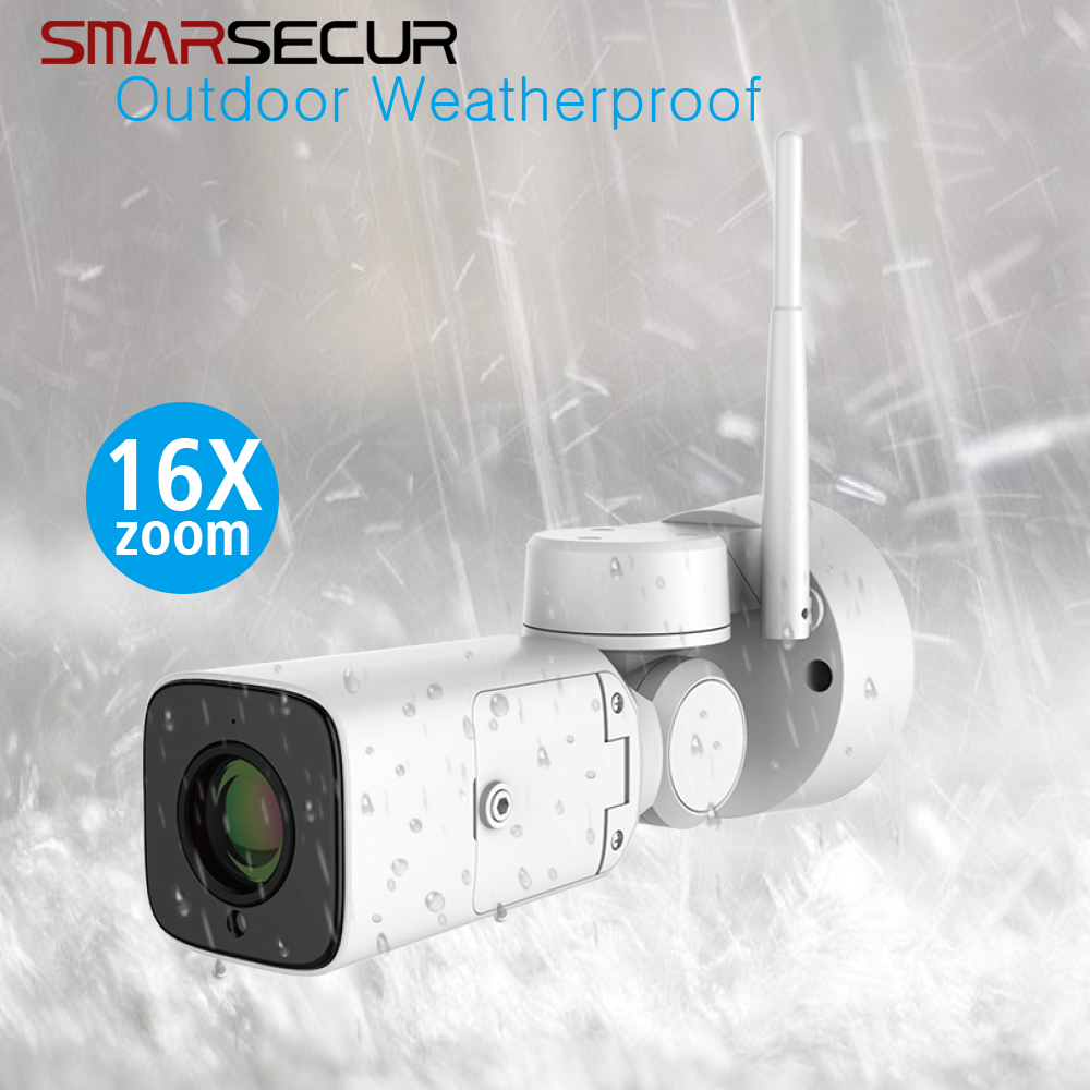 HD 1080P IP Camera Wireless Wifi Bullet Camara Outdoor Waterproof Night Vision  16xZoom Home Security CamaraHD 1080P IP Camera Wireless Wifi Bullet Camara Outdoor Waterproof Night Vision  16xZoom Home Security Camara