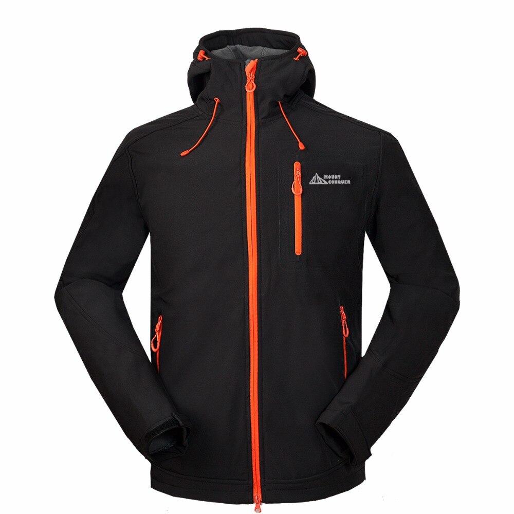 Mammoth Winter Ski Outdoor Sport Windbreaker Hiking Trekking Skate Rain Coat Tech Fleece Waterproof Men 39 s Softshell Jacket in Hiking Jackets from Sports amp Entertainment