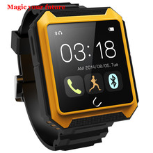 Wasserdicht IP68 SmartWatch Reloj Inteligente Smart Uhr Android & Ios Gummi Montre Connecter Armbanduhr mit Kamera Telefon kamerad