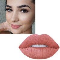 MISS ROSE 12 PZ Rossetto Opaco Pigmento Nudo di Lunga Durata Lip Tint Kit Per Il Trucco Calda Opaco Rosso Rossetti