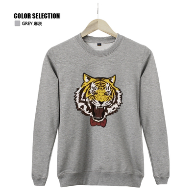 Plus size 5 colors in Anime Yuri on Ice Yuri Plisetsky Cosplay Yuri!!! on Ice Pullover black tiger Sweatshirt Costume in stock