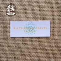 72 Custom Logo Labels Brand Labels Personalized Name Tags For Children Iron On Custom Clothing Labels
