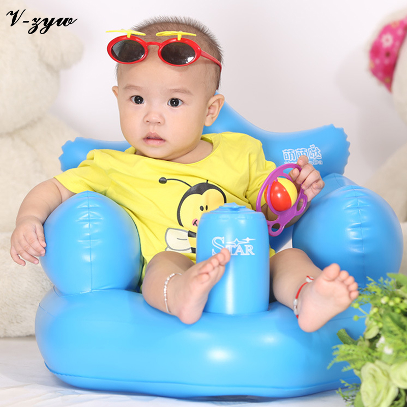 baby chair seat spa pedicure chairs canada bath dining inflatable sofa pvc pushchair portable play game mat cute safety ys043 in seats from