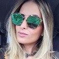 Binful caliente venta new 2017 mujeres de calidad superior gafas de sol gafas de sol de marca a prevenir las alergias de nariz de metal de moda gafas de sol retro
