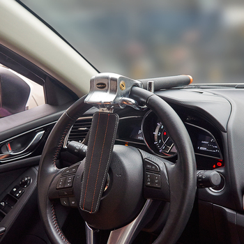 Steering Wheel Lock Foldable Anti-Theft Security Car Locks Auto Steering Lock
