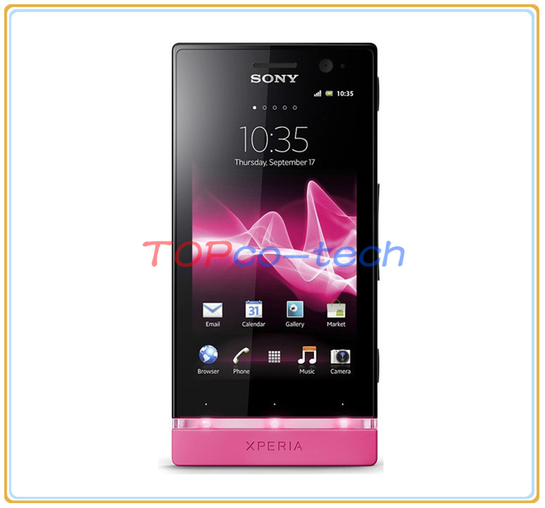sony xperia u st25i original android unlocked phone 3g gps wifi 5mp rh aliexpress com Xperia U White Xperia X