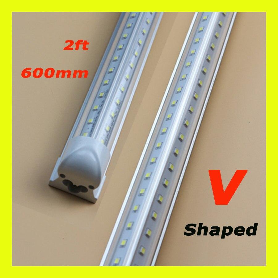 8 Ft 2 Lamp Fluorescent Strip Light White No Ssf2964wp 8ft: 20W V Shaped T8 Integrate Led Tube 2ft Cooler Door Double