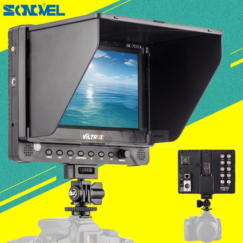 VILTROX DC 70EX 7 TFT Screen HDMI SDI AV Input Output Video LCD HD Monitor Display
