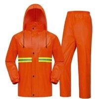 Motorcycle Rain Suit Men Waterproof Raincoat Rain Pants Rainwear Impermeable Poncho Raincoat Rain Coat For Men Rain Gear Poncho