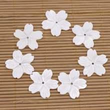 7 шт раковины натуральные белые жемчужные для изготовления украшений