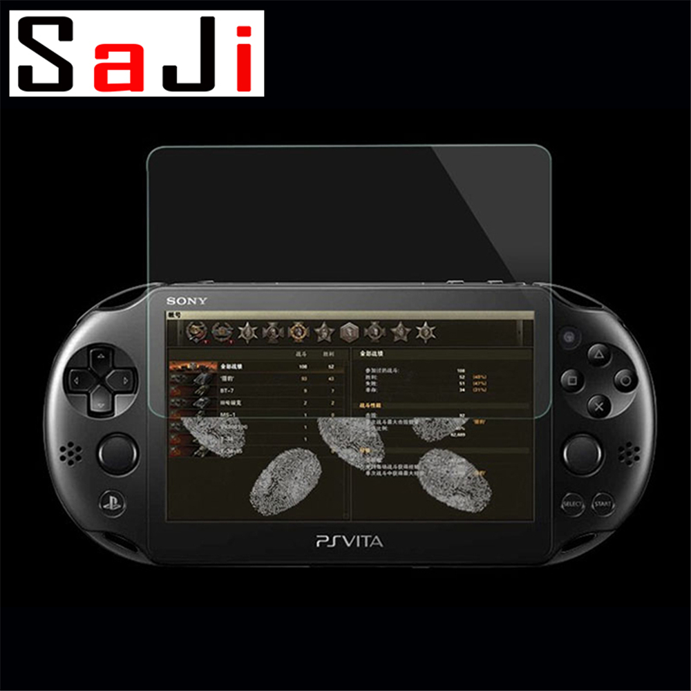 2Pcs Tempered Glass PSV <font><b>2000</b></font> Front <font><b>Screen</b></font> Protector Cover Protective Film Guard For Sony PlayStation Psvita <font><b>PS</b></font> <font><b>Vita</b></font> PSV <font><b>2000</b></font> image