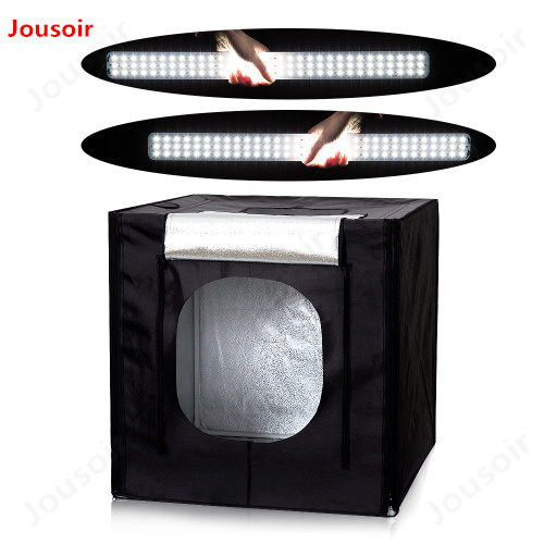 50*50*50cm Photo Studio LED soft box Shooting Light Tent set+portable bag +3 Backdrops+dimmer switch for toyCD15