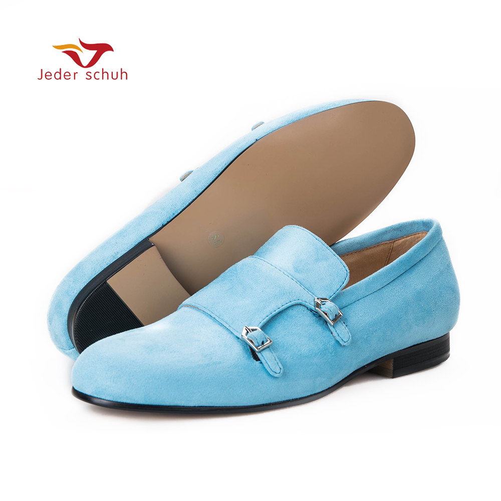 Men loafers fashion casual buckle design size cow suede shoes men flats wedding banquet and men shoes top brand high quality genuine leather casual men shoes cow suede comfortable loafers soft breathable shoes men flats warm
