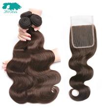 #4 Light Brown Malaysian Hair Weave Bund