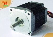 4-Leads Nema 34 Wantai Stepper Motor Single Shaft1090oz-in, 5.6A, 85BYGH450D-008,2 phases, 3D Printer CNC Motor