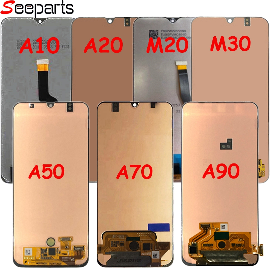 For <font><b>Samsung</b></font> Display A50 <font><b>LCD</b></font> A10 A20 <font><b>A70</b></font> A90 <font><b>LCD</b></font> Display Touch Screen Digitizer Assembly For <font><b>Samsung</b></font> A50 <font><b>LCD</b></font> M20 M30 <font><b>LCD</b></font> Screen image