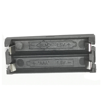 1Pcs/lot Best quality Nylon Battery Holder 2XAAA Cell THM Battery Case for AAA Batteries image