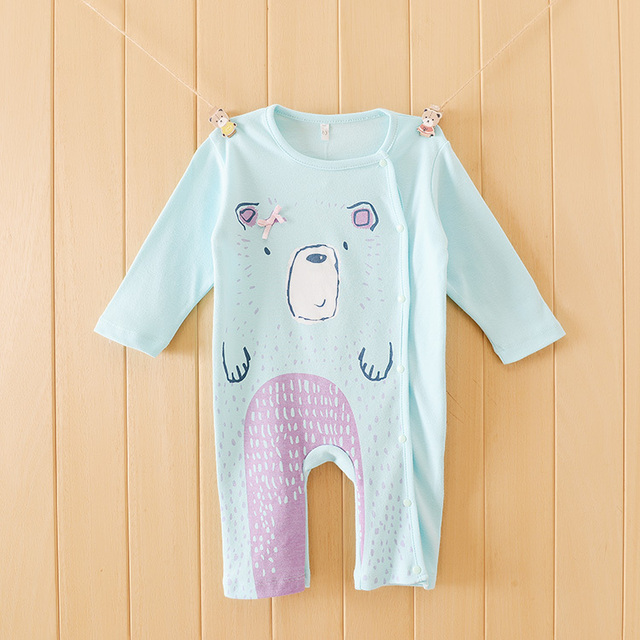 05cf839f8ec Baby Romper Newborn Baby Clothes Cute Animal 6 Styles Clothing Ropa Bebe  Children Toddlers Rompers 2colors 1pcs HB031