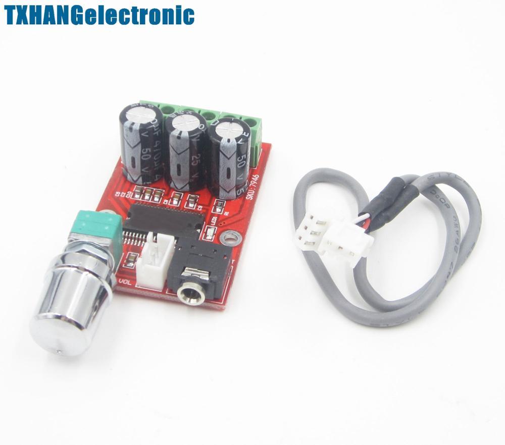 YDA138-E for YAMAHA 12W+12W Dual Channel Digital Amplifier Board DC 12V