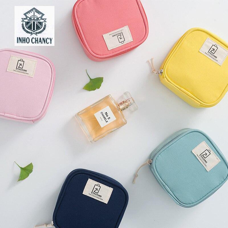 Storage-Bag Handbags Lipstick Cloth Small Mini Waterproof Cotton Packing-Cubes Fresh