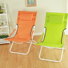 New Arrival Sun Lounges Outdoor Camping Folding Beach Chair Waterproof Breathable Balcony Leisure Break Chair Furniture