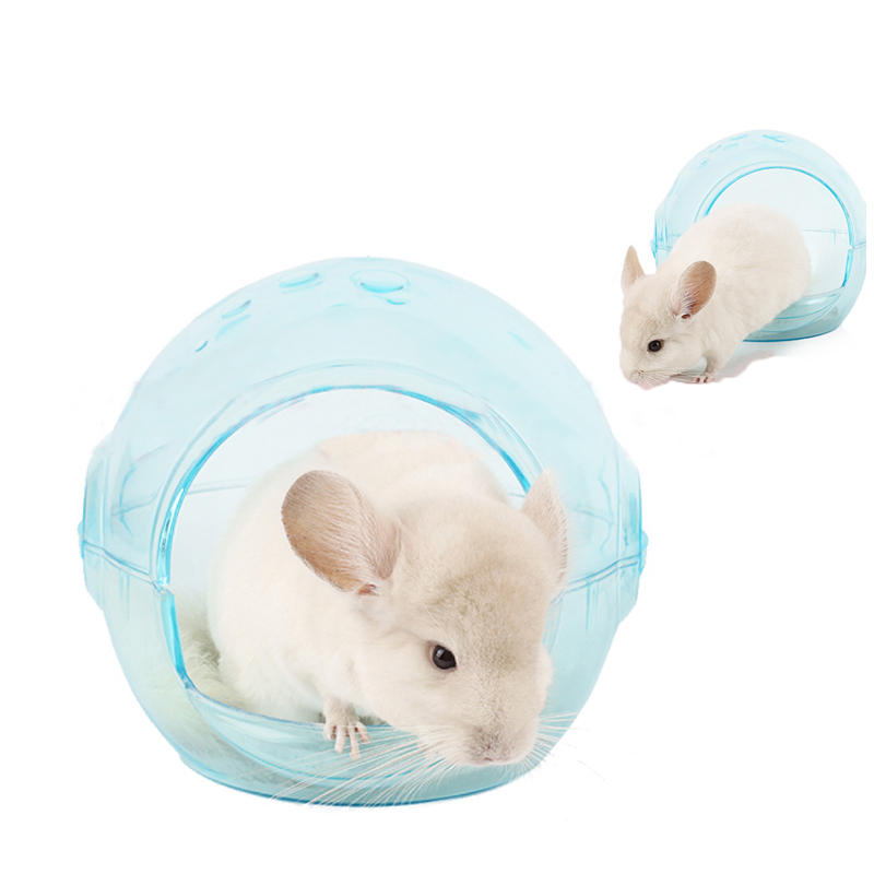 Large Chinchillas Bathroom Sauna Bathtub Guinea Pig Pet Toy Can Effectively Prevent Bath Sand Fly Out Hamster Accessories