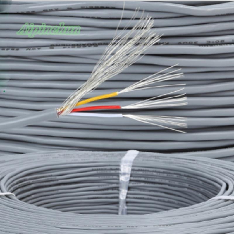 Aipinchun 2Meters 2 3 4 5 Core Shielded Wire UL 2547 28AWG 2.1 ...
