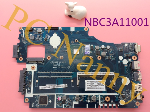 NBC3A11001 Z5WE3 LA-A621P For Acer Aspire E1-510 Laptop Motherboard System Board N2920 1.8GHz DDR3 Intel GMA HD Graphics