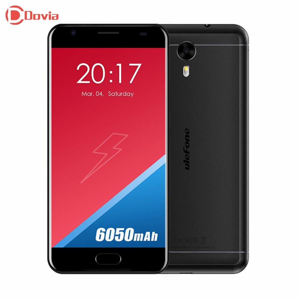 bilder für Ulefone Power 2 4G Telefon 5,5 zoll Android 7.0 MTK6750T Octa-core 4 GB RAM 64 GB ROM 13MP Kamera Fingerabdruck-scanner Smartphone