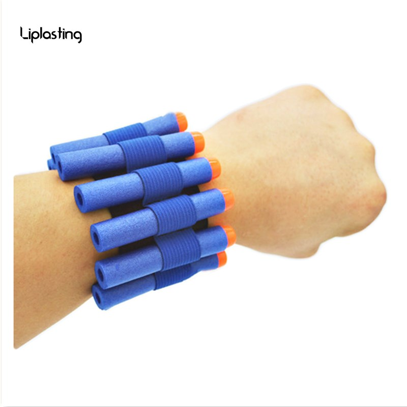 Toy Gun Wristband For Nerf Gun Softbullet Gun Can Hold Soft Bullets Professional Player Outdoor Game Equipment In Arena TSLM1
