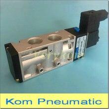 Mindman zawór elektromagnetyczny typu DC 12 V 24 V AC 110 V 220 V 2 pozycja 5 Way 2/5 MVSC 460 4E1 MVSC 220 4E1 MVSC 260 4E1 MVSC 300 4E1 E2