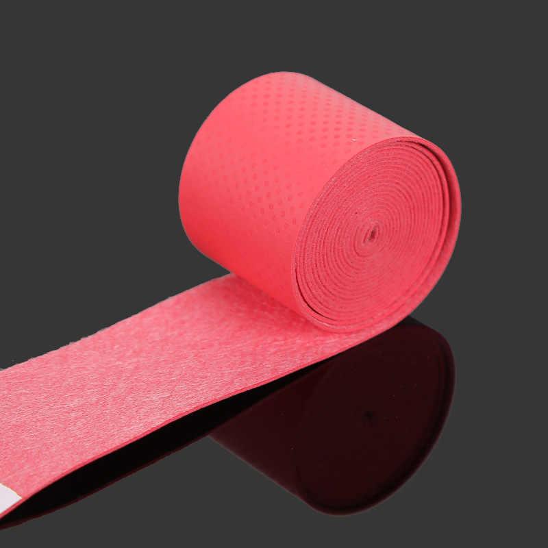 1 Piece Self Adhesive Nonslip Sweat Absorptive Fishing Rod Handle Grip Tape Sweatband Tape for Golf Tennis Badminton Rackets