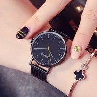 GIMTO Brand Women Bracelet Watches Steel Clock Ladies Quartz Watch Gold Black Business Male Female Wristwatch