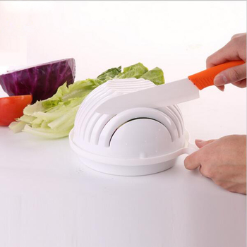 2018 New 60 Seconds Salad easy Cutting Salad Bowl Magic Fresh Vegetables and Fruits Salad cutting maker in Seconds Kitchen Tools зеленый салат с курицей