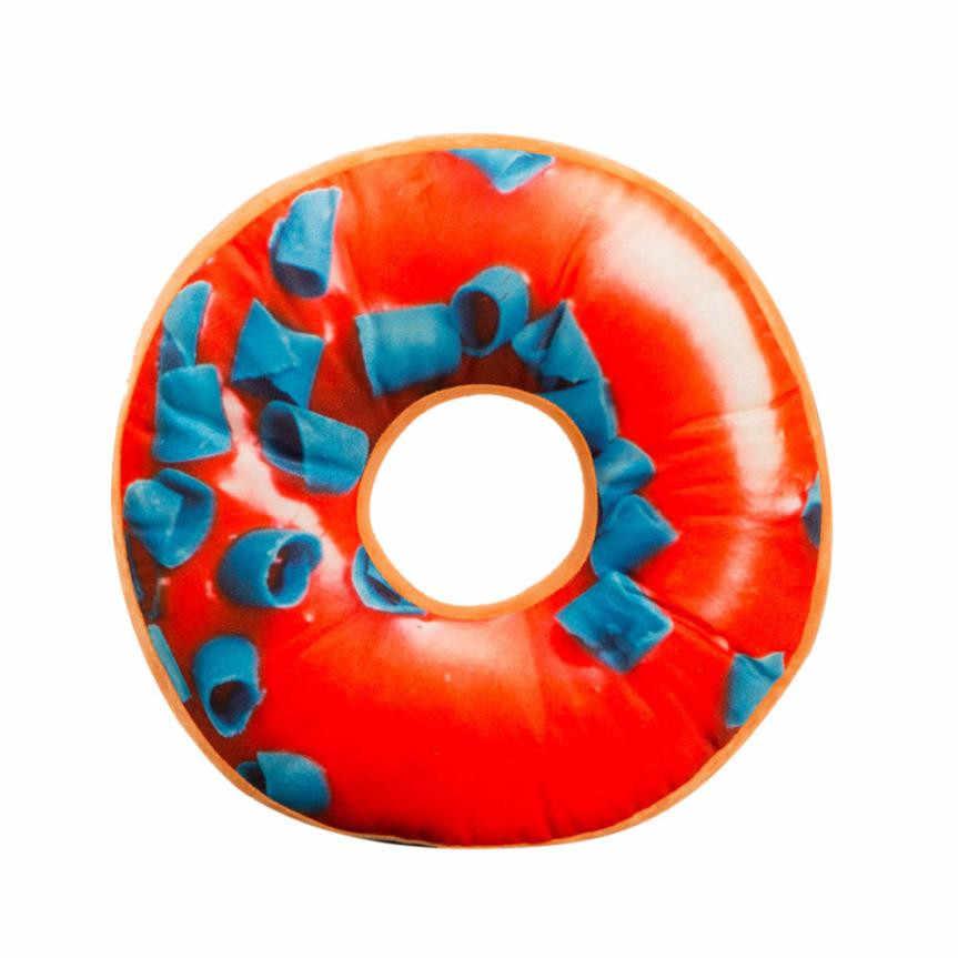 Ouneed забавные цветная, мягкая, плюшевая подушка чехол Мягкая плюшевая подушка сиденья сладкий Пончик продукты Чехол игрушки Лидер продаж